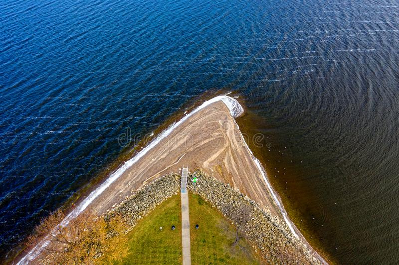Aerial Photography Of Body Of Water Free Public Domain Cc0 Image