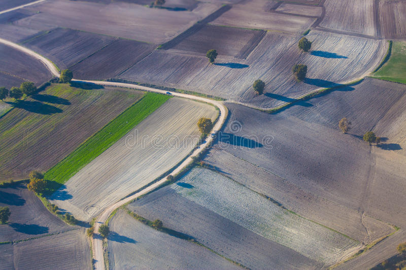 Aerial photography stock photography