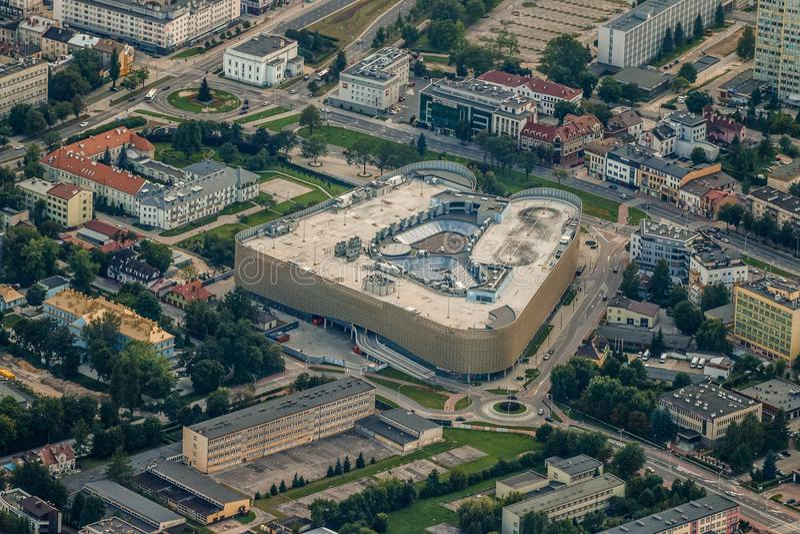 Aerial Photography, Urban Area, Bird's Eye View, City stock photo