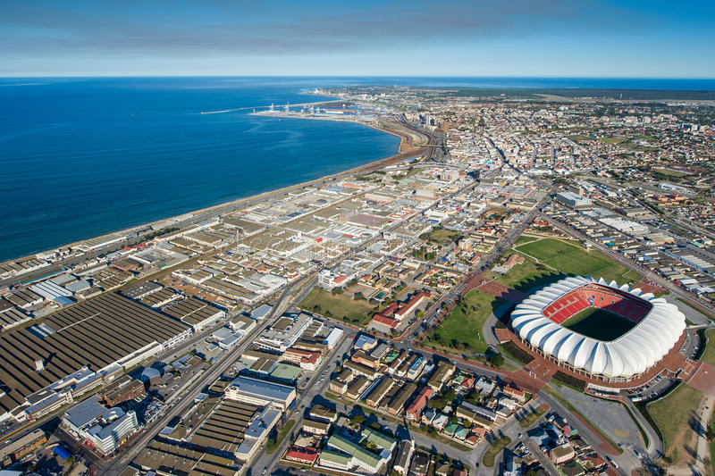Aerial of port elizabeth south africa stock image image - What to do in port elizabeth south africa ...