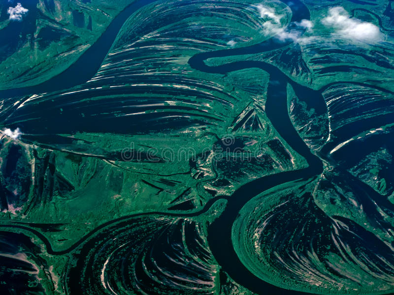 Aerial rivers of Russia