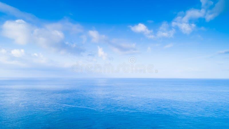 Aerial shot sea scenery. Aerial shot sea beautiful scenery in the kenting royalty free stock image