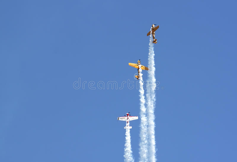 Download Aerial show stock photo. Image of airplanes, teamwork - 25873668