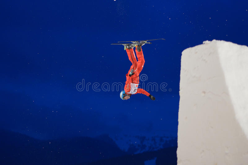 Download Aerial skiing editorial image. Image of jump, actions - 29499305