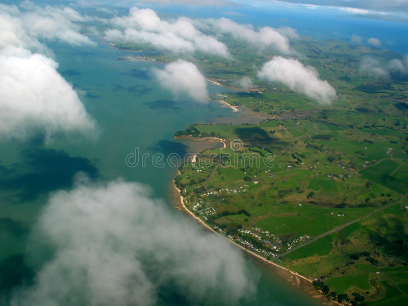 Aerial View Royalty Free Stock Image