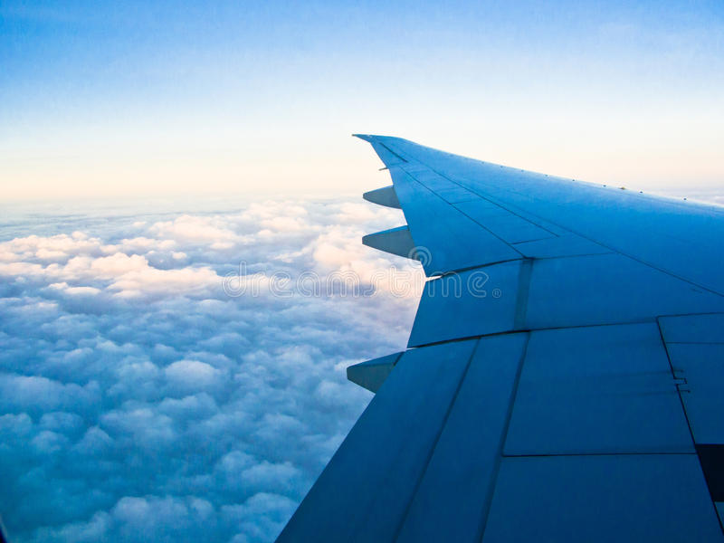 Download An aerial view stock image. Image of cloudy, airplanes - 22994535