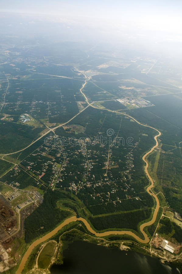 Download Aerial View. stock image. Image of background, district - 9454049