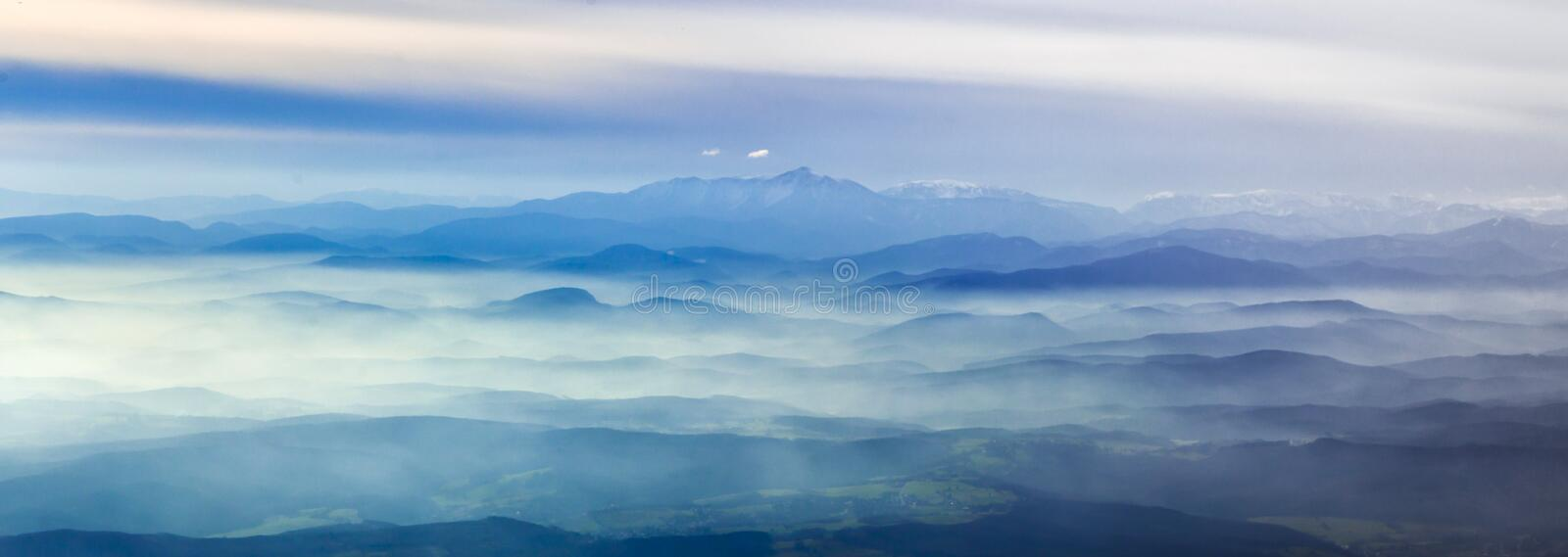 Download Aerial View Of The  Alps Royalty Free Stock Photo - Image: 23200145
