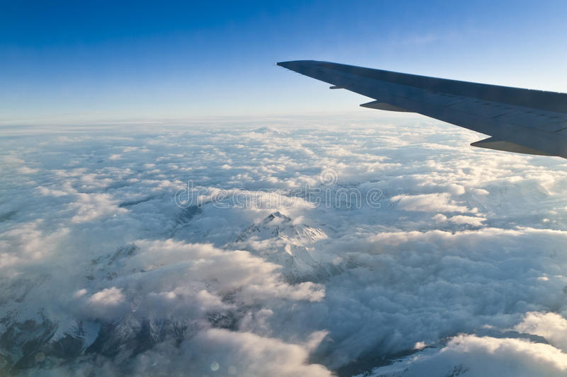 Download Aerial view of Alps stock image. Image of clouds, european - 26599209