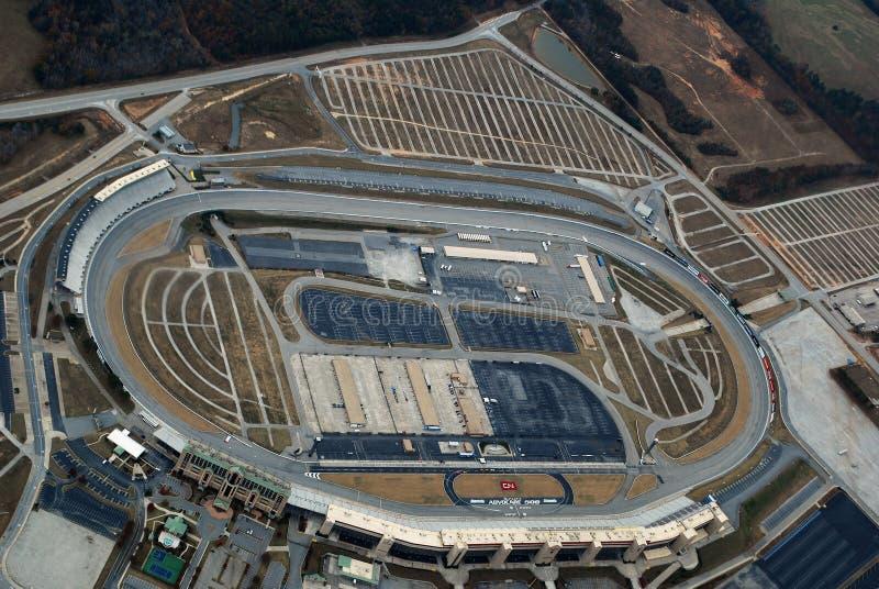 Aerial view Atlanta Motor Speedway royalty free stock photos