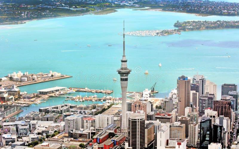 Aerial view of Auckland War Memorial Museum royalty free stock image