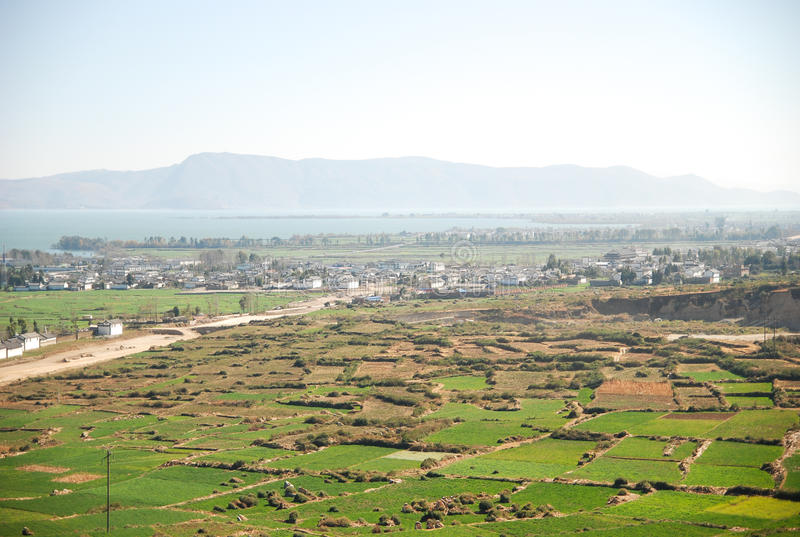 Download Aerial View Of Beautiful Houses At Lijiang In China Stock Image - Image of organic, agriculture: 28855809