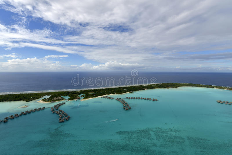 Download Aerial View On Bora Bora Stock Images - Image: 34183114