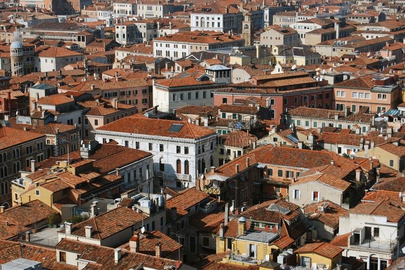 Download Aerial View Of Buildings In Venice, Italy Stock Image - Image: 18547401