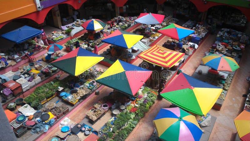 Market Khadijah Kota Bharu Kelantan Malaysia. Aerial view business activities at Market Khadijah, Kota Bharu Kelantan Malaysia stock images