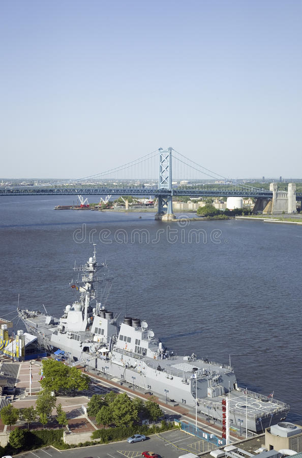 Download Aerial View Of Delaware River, Editorial Stock Image - Image: 27071474