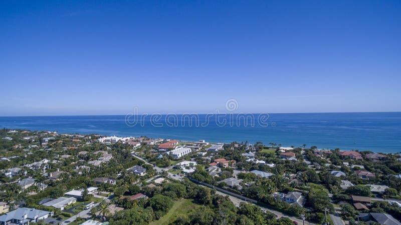 Aerial view Delray Beach, Florida. Aerial view from Delray Beach, Florida stock image