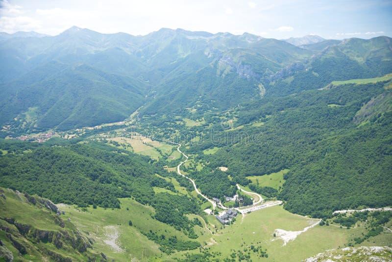 Download Aerial View Of Fuente De Village Stock Image - Image of landscape, field: 22416737