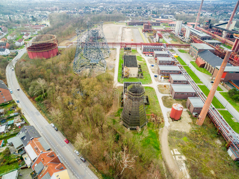 Download Aerial View Of The Heritage Coal Mine Zollverein Editorial Stock Photo - Image: 83711153