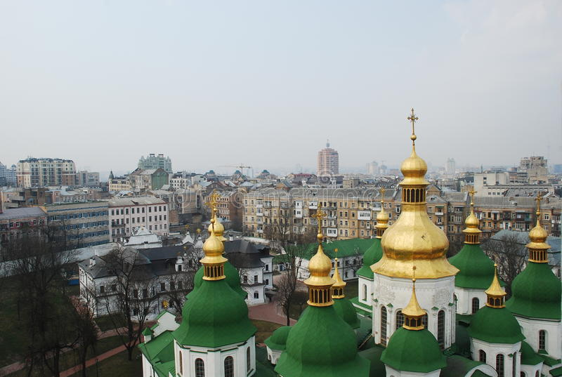 Download Aerial View Of Kiev The Central Part City Ukraine Editorial Photo - Image: 83707646