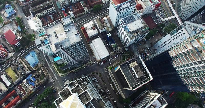 Aerial view of Kuala Lumpur city in Malaysia  Morning, contemporary