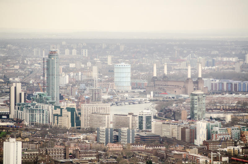 Download Aerial View Of Lambeth And Battersea Stock Photo - Image: 32091230