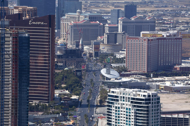 Download Aerial View Of The Las Vegas Blvd Editorial Photography - Image: 26582802