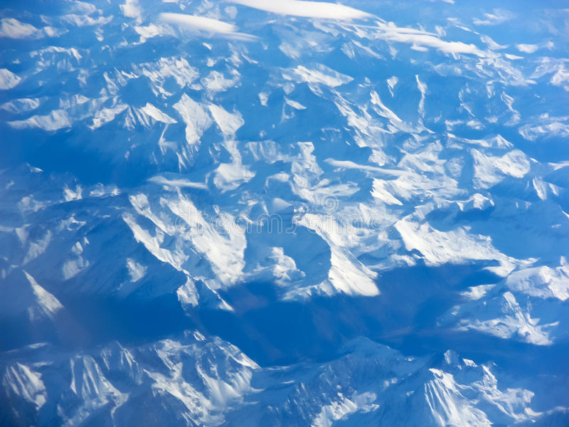 Aerial view of a mountain range,Pyrenees