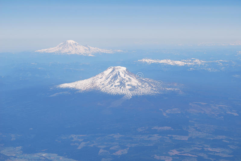 Download Aerial View Of Mountains Stock Photo - Image: 12716060