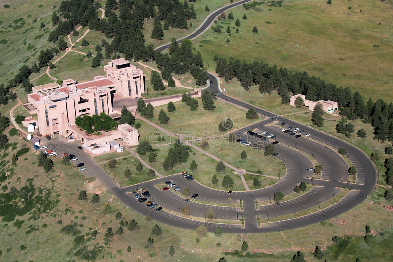 Download Aerial View of NCAR stock photo. Image of boulder, laboratory - 31885422