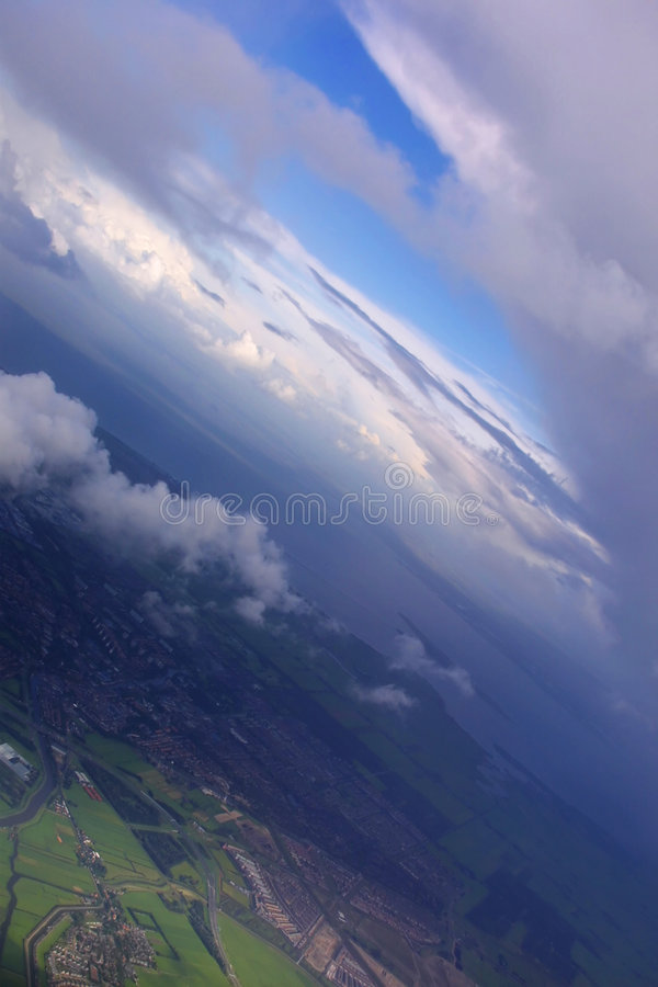 Free Aerial View Of Earth & Sky Royalty Free Stock Images - 2230199