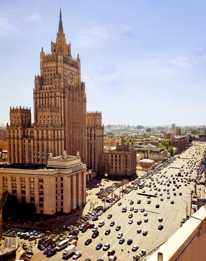 Free Aerial View Of Moscow Royalty Free Stock Photo - 19968575