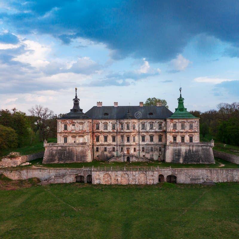 Free Aerial View Of Pidhirtsi Castle, Ukraine Royalty Free Stock Image - 165294426