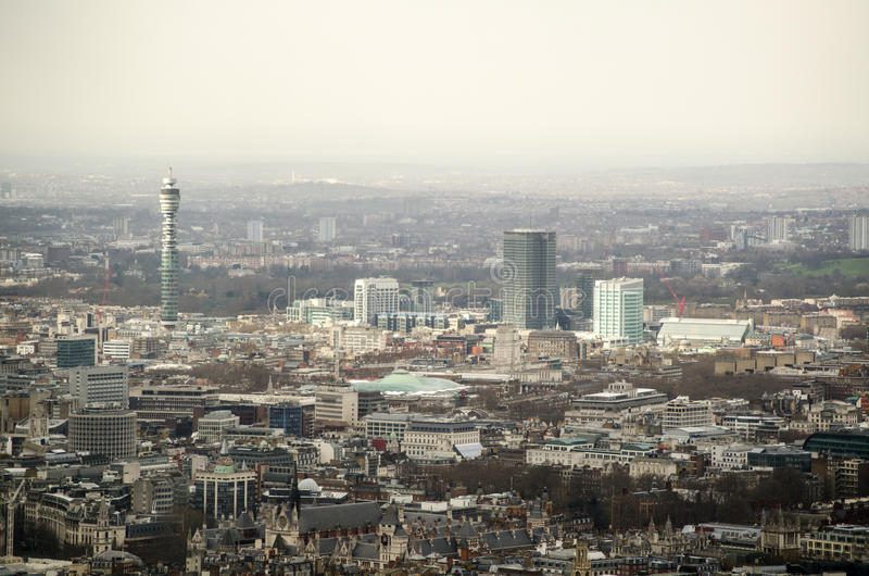 Download Aerial View Over Bloomsbury, London Stock Image - Image: 29328753