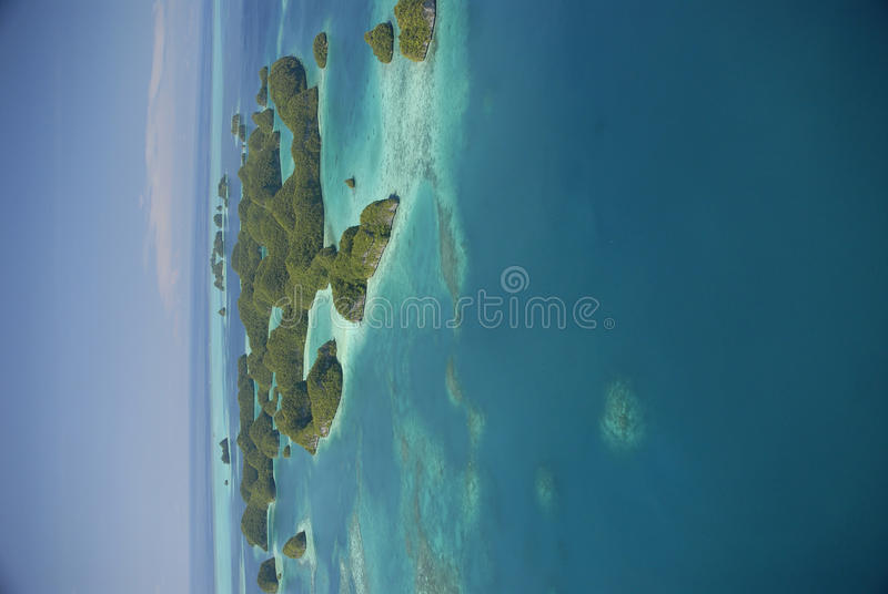 Download Aerial View Of Palau's Famous Seventy Islands Stock Photo - Image: 9730806