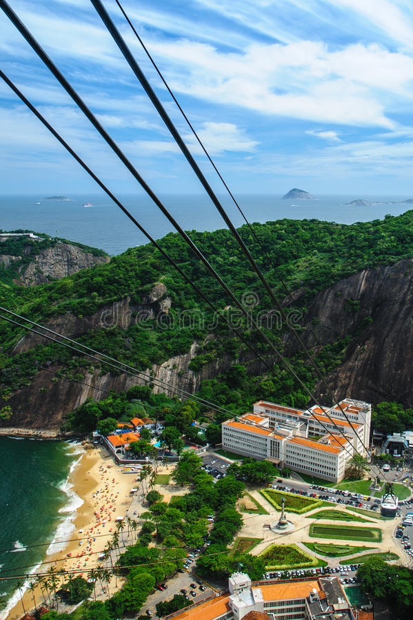Download Aerial View Of Rio De Janeiro Royalty Free Stock Photography - Image: 25574197