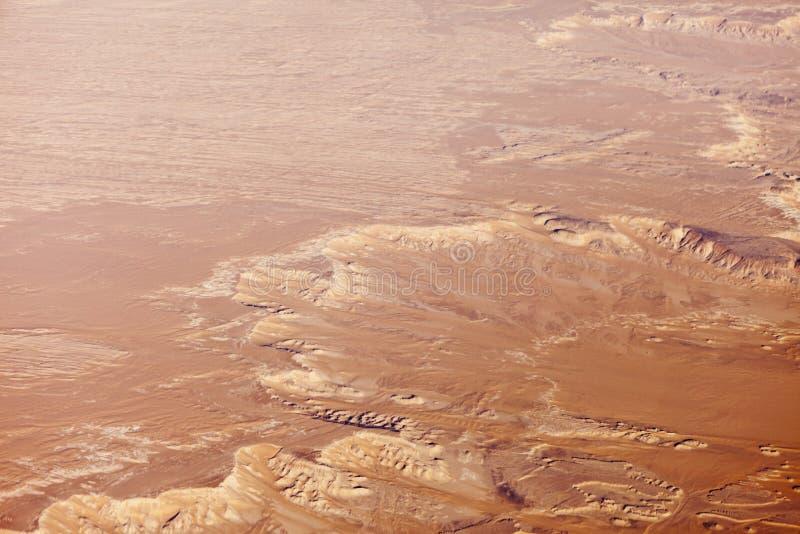 Download Aerial view of sahara stock image. Image of bird, desolate - 17446353