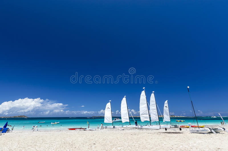 Aerial view of Saint Martin Beaches. Best St Martin Beaches in Caribbean from the sky, Aerial views stock images