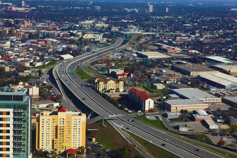 An Aerial View Of Ottawa Canada Stock Image Image Of