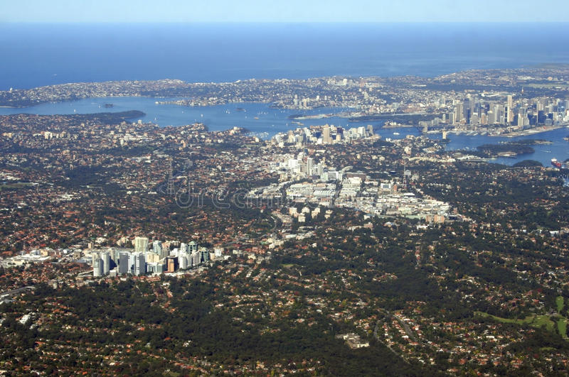 Download Aerial View Of Sydney Australia Stock Image - Image: 25656363