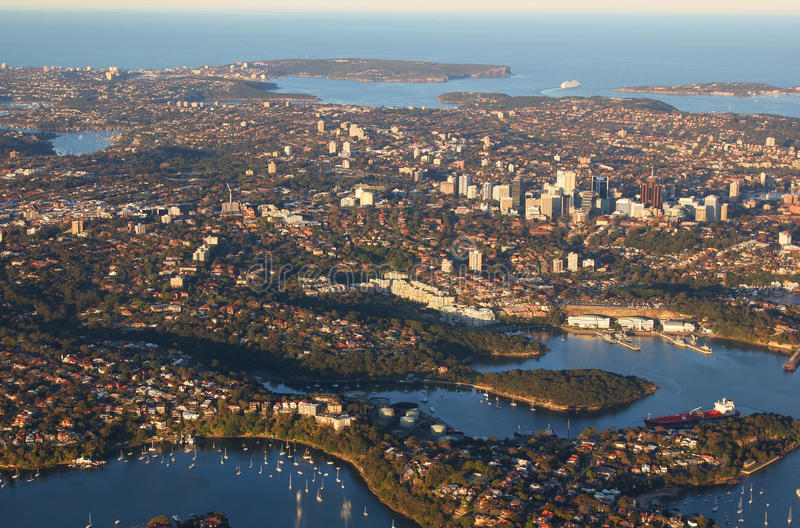 Download Aerial View Of Sydney Australia Stock Image - Image of urban, buildings: 27484735