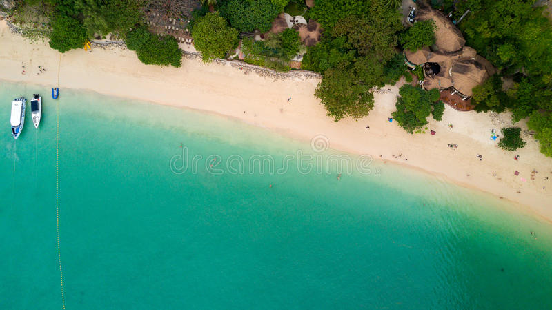 Download Aerial View On Thailand Beach Stock Photo - Image: 83718013