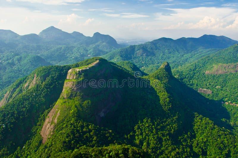 Mountains in Rio de Janeiro stock photos