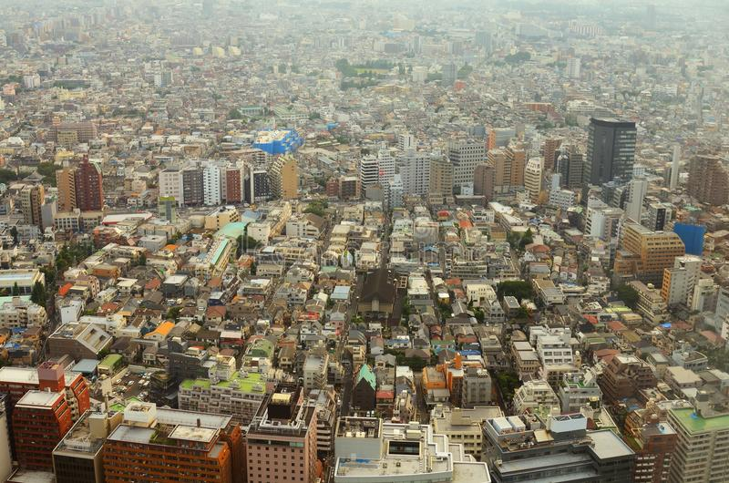Download Aerial View In Tokyo Royalty Free Stock Image - Image: 20715736