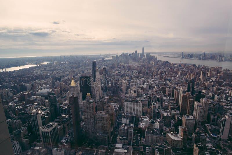 Aerial View Of Urban Skyline Free Public Domain Cc0 Image