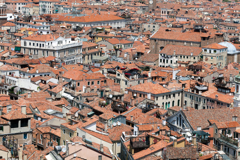 Aerial View Of Venice Royalty Free Stock Photo