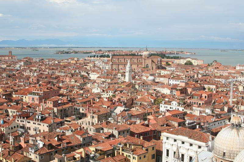 Download An Aerial View Of Venice - Italy Stock Photo - Image: 14281768