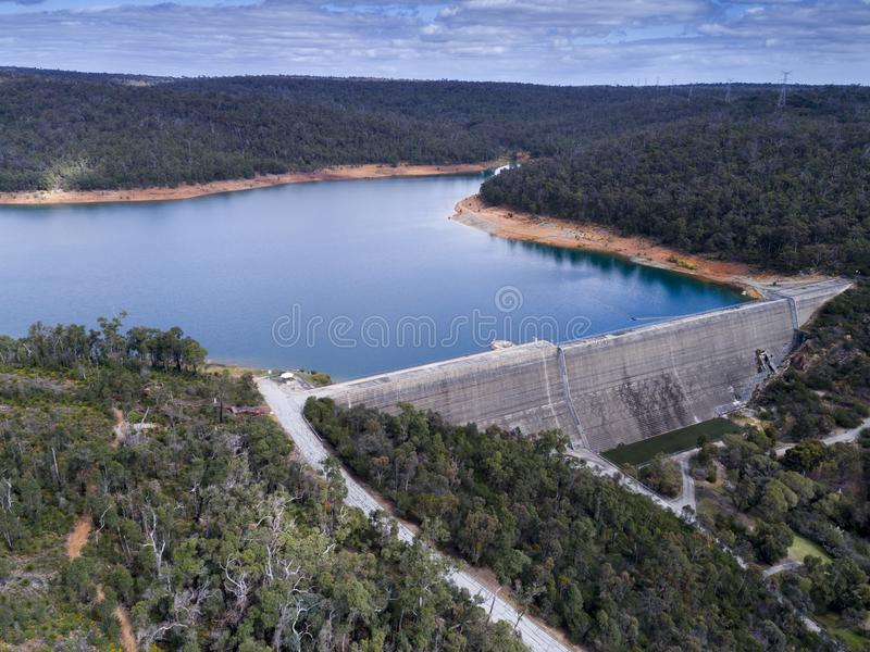 Victoria Reservoir stock photography