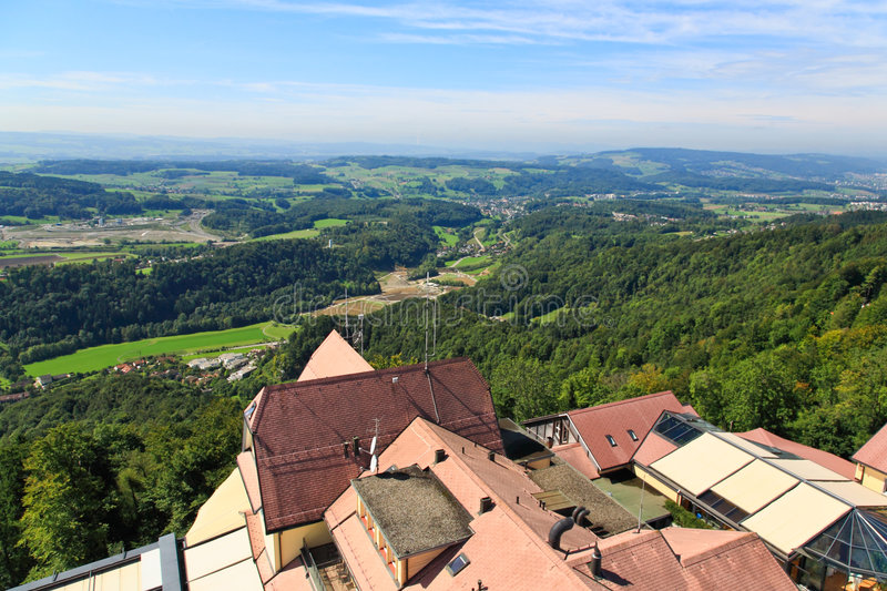 Download The Aerial View Of Zurich Countryside Stock Image - Image: 6769121