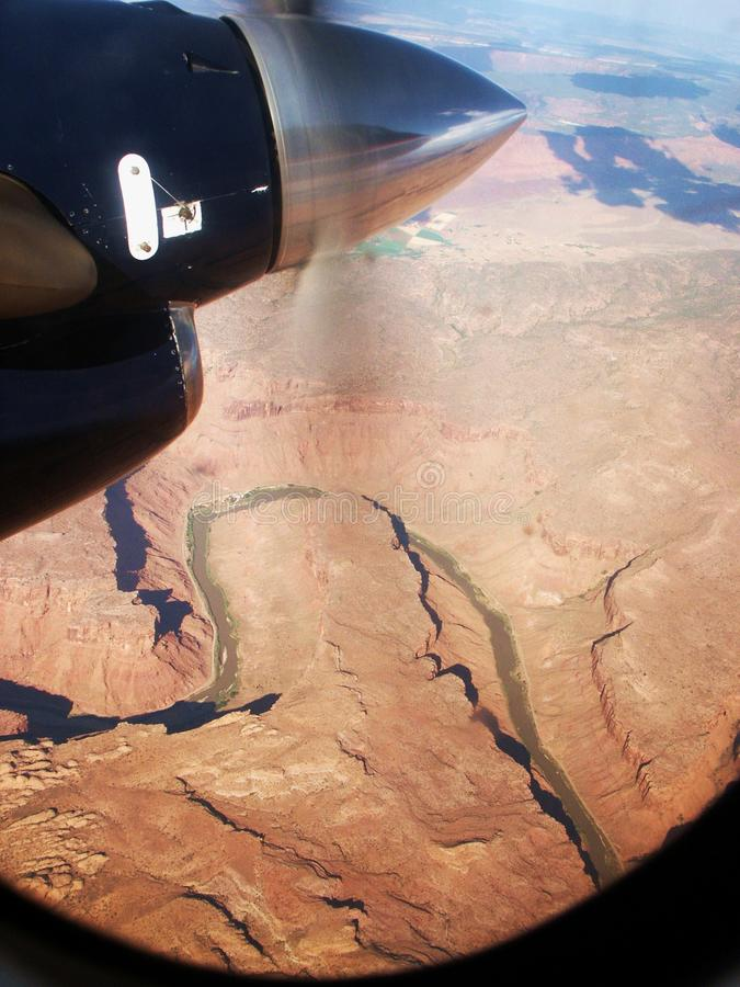 Download AerialView stock photo. Image of desert, river, bend, black - 8120188